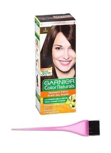 Garnier Garnier Color Naturals Saç Boyası 4 + Boya Fırçası Renksiz